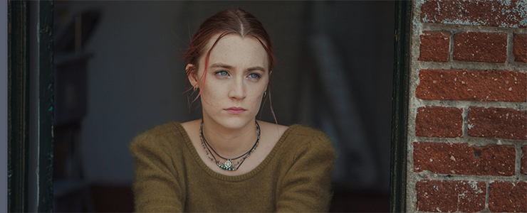 "New promotional stills from ""Lady Bird"""