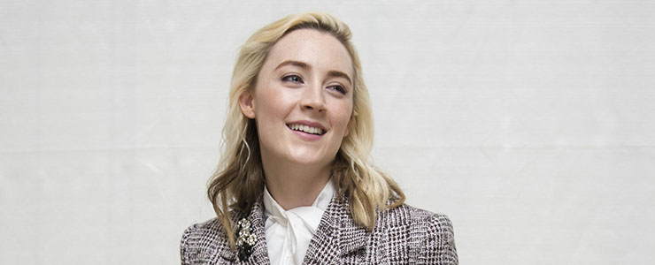 "(Photos) ""Lady Bird"" Beverly Hills Press Conference"