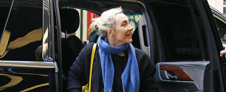 (Photos) Arriving at the Rockefeller Center in NYC