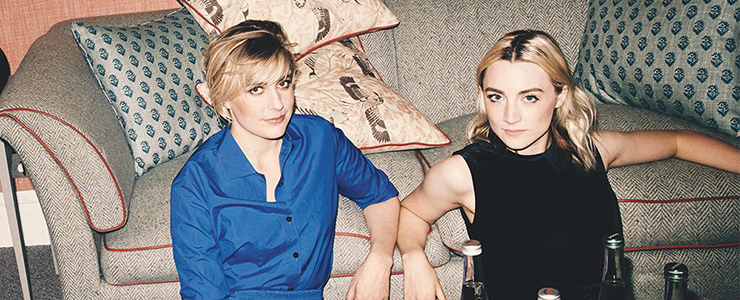Saoirse and Greta Gerwig cover Variety