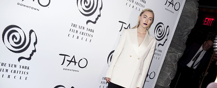 Saoirse attends NYFCC Awards