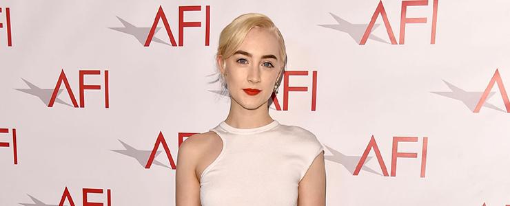 Saoirse attends the AFI Awards