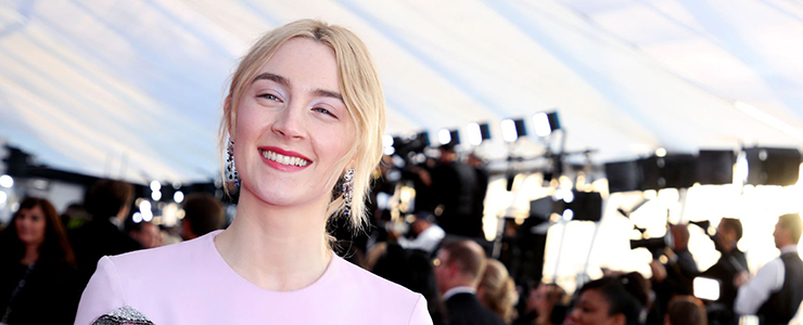 Saoirse attends the Screen Actors Guild Awards