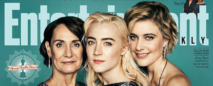 """Lady Bird"" covers Entertainment Weekly"