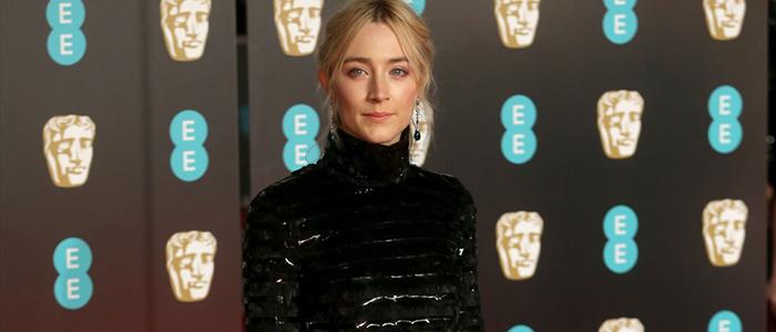 Saoirse at EE British Academy Film Awards