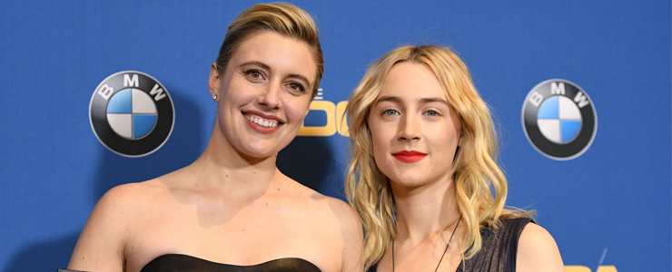 Saoirse attends the Directors Guild Of America Awards