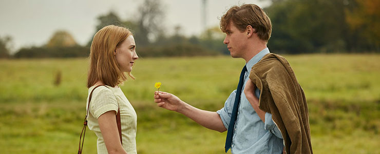 "New stills from ""On Chesil Beach"""