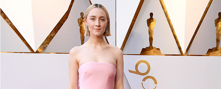 Saoirse attends the Academy Awards