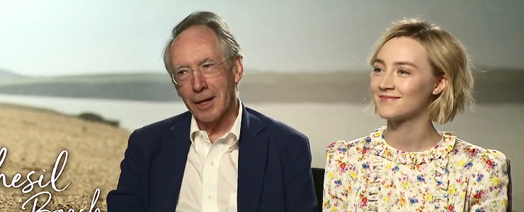 (Video) Saoirse & Ian McEwan talk 'On Chesil Beach'