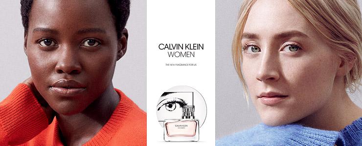 Saoirse fronts Calvin Klein 'Women' Fragrance Campaign