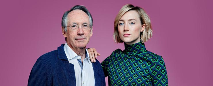 Saoirse and Ian McEwan talk to The Times
