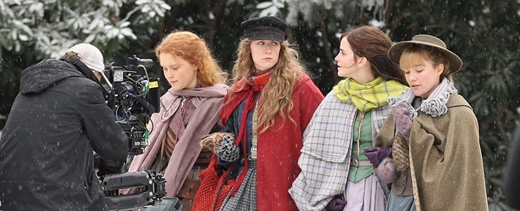 "(Photos) On the set of ""Little Women"""