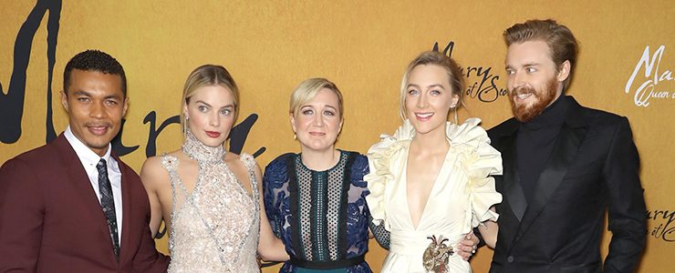 """Saoirse attends """"Mary Queen of Scots"""" NY Premiere"""