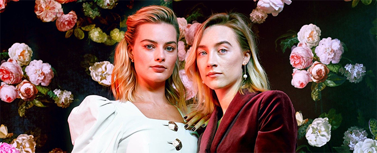 Saoirse & Margot Robbie talk to the NY Times