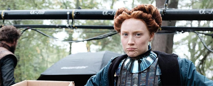 """(Video) On the set of """"Mary Queen of Scots"""""""