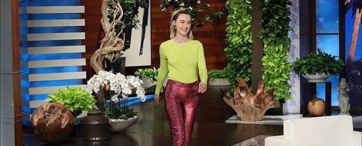 (Videos) Saoirse on The Ellen DeGeneres Show