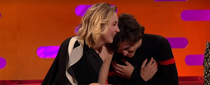 Saoirse visits The Graham Norton Show