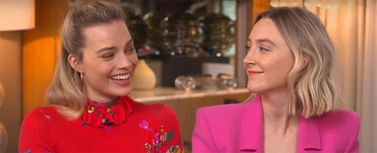 (Video) Saoirse & Margot Robbie on Lorraine