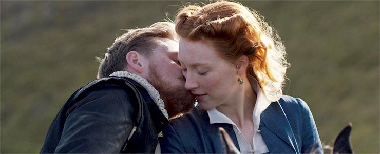"""Screen captures of """"Mary Queen of Scots"""""""